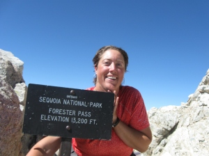 Forester Pass, the highest point on the PCT!