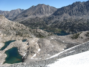 Looking North from Glen Pass.