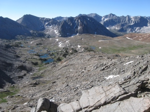 Looking South from Pinchot Pass.