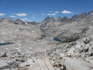 Looking North from Mather Pass.