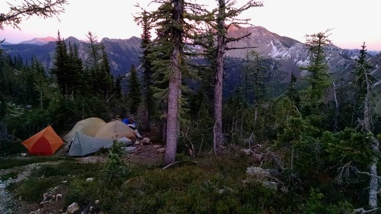 Woody Pass Camp