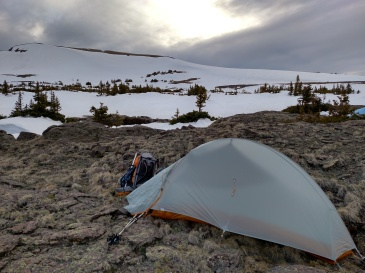 One of those camps over 12,000 ft. on the CDT.