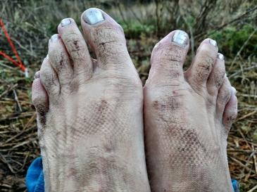 Continental Divide Trail Gila River Feet
